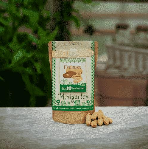 Minigarten Erdnuss - Die Stadtgärtner