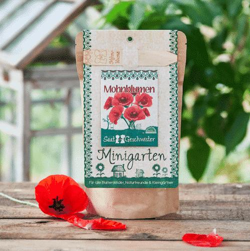 Minigarten Mohnblume - Die Stadtgärtner