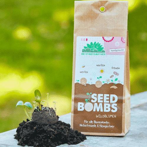 Samenbomben - Wildblumen - Die Stadtgärtner 1