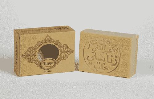 Aleppo Seife - Honig - Zhenobya 100 g