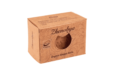 Bio Aleppo Seife mit 12 % Lorbeeröl - Zhenobya 200 g 3