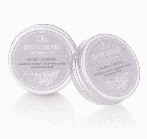Deocreme mit Salbei-Lavendel und Schafmilch - Ovis 30 g