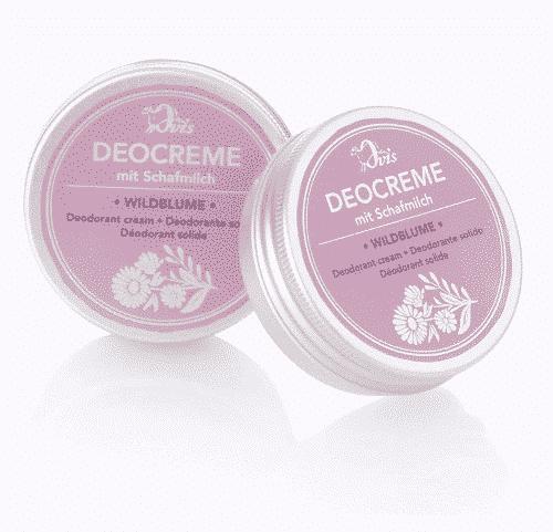 Deocreme mit Wildblume und Schafmilch - Ovis 30 g
