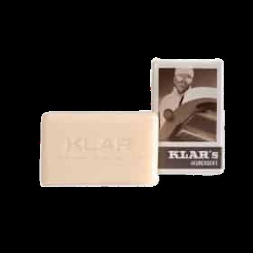 Seife für Herren ohne Palmöl - Cosmos zertifiziert - Klar 100 g
