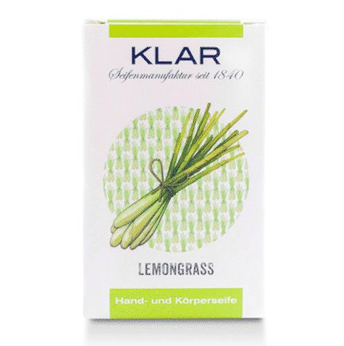 Seife mit Lemongrass palmölfrei - Cosmos zertifiziert - Klar 100 g