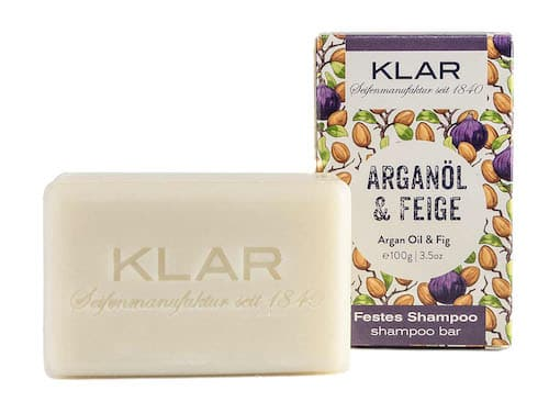 Festes Shampoo - Arganöl und Feige - KLAR 100 g - 2