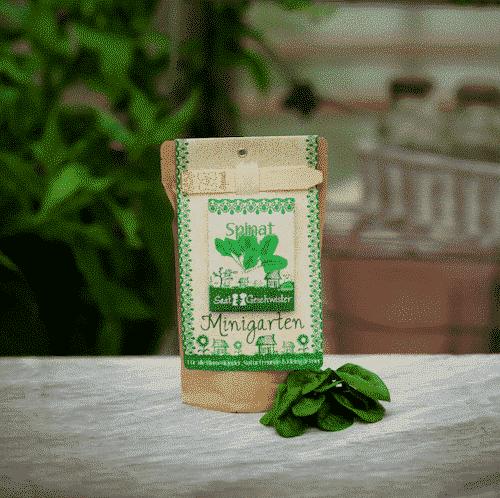 Minigarten Spinat - Die Stadtgärtner
