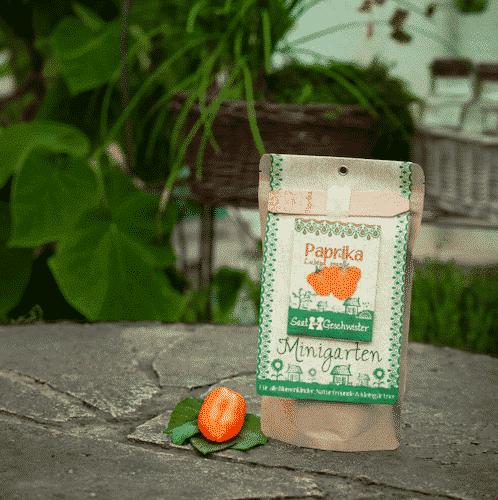 """Minigarten Paprika """"Lubega Orange"""" - Die Stadtgärtner"""