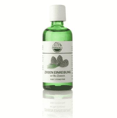Zirben Einreibung mit bio Zirbenöl - Zirmquell 100 g