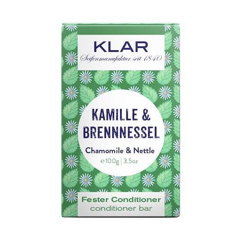 Fester Conditioner - Kamille und Brennnessel - KLAR 100 g