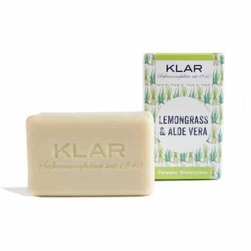 Festes Shampoo - Lemongrass und Aloe Vera