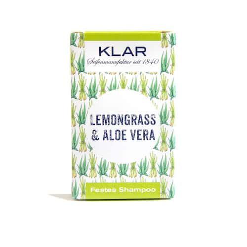 Festes Shampoo - Lemongrass und Aloe Vera - KLAR 100 g
