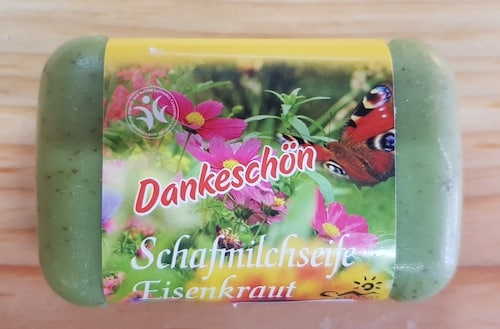 Schafmilchseife mit Eisenkraut - BDIH zertifiziert - Saling 100 g