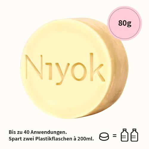 Soft blossom - 2 in 1 feste Dusche + Pflege - Niyok 80 g