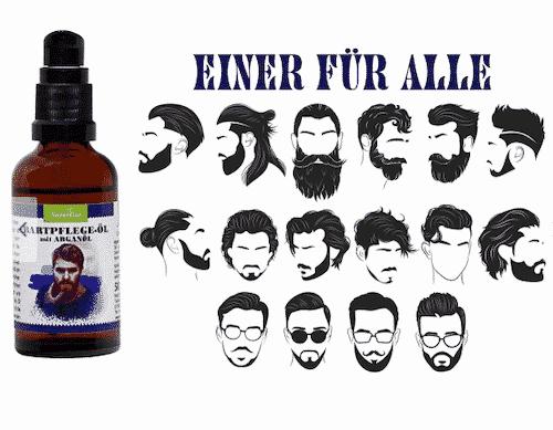 Bartpflegeöl - Bart und Gesichtshaut - NaturGut 50 ml 2