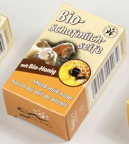Bio Schafmilchseife mit bio Honig - BDIH zertifiziert - Saling 100 g
