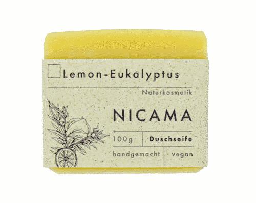 Duschseife Lemon - Eukalyptus - NICAMA 100 g