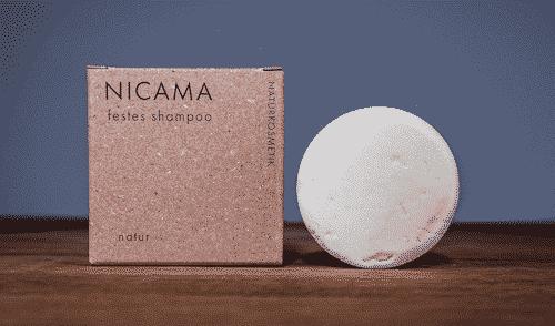 Festes Shampoo Natur - NICAMA 50 g