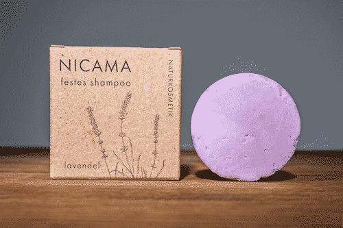 Festes Shampoo Lavendel - NICAMA 50 g