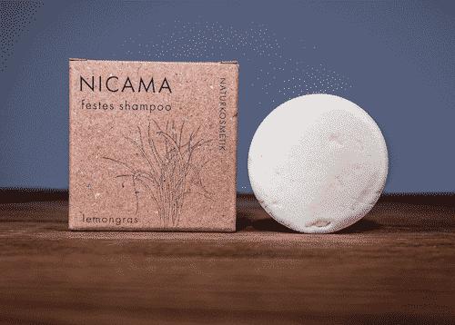 Festes Shampoo Lemongras - NICAMA 50 g