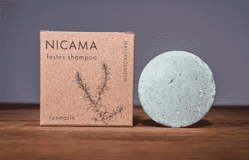 Festes Shampoo Rosmarin - NICAMA 50 g