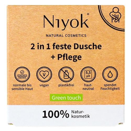 Green touch - 2 in 1 feste Dusche + Pflege - 2