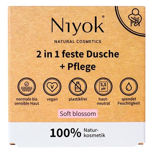 Soft blossom - 2 in 1 festes Shampoo + Conditioner - 2
