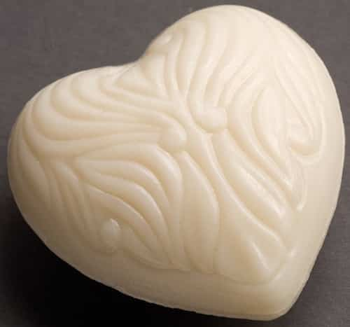 Schafmilchseife Herz - Cosmos zertifiziert - Saling 65 g