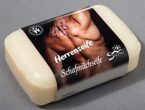 Saling Schafmilchseife für Herren - BDIH zertifiziert - 100 g