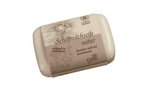 Schafmilchseife Natur - Cosmos zertifiziert - Saling 100 g