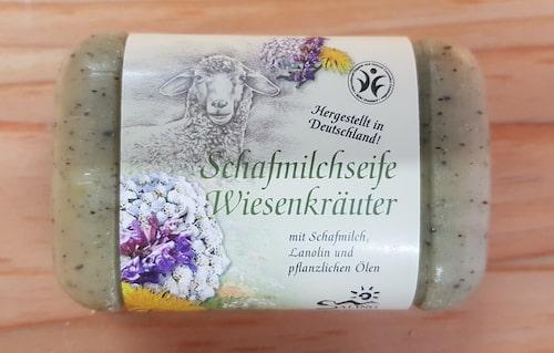 Schafmilchseife Wiesenkräuter - BDIH zertifiziert - Saling 100 g