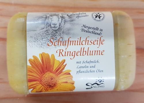 Schafmilchseife mit Ringelblume - BDIH zertifiziert - Saling 100 g