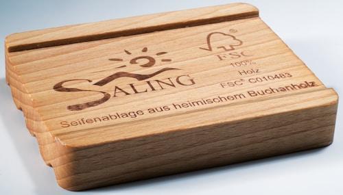 Seifenablage aus Buchenholz - FSC zertifiziert - Saling