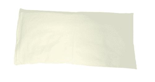 Zirbenkissen - Kopfkissen weiss - NaturGut 37 x 75 cm