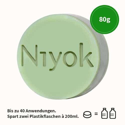 Early spring - 3 in 1 feste Dusche - Körper + Haare + Gesicht - Niyok 80 g