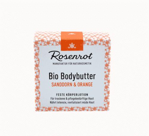 Bio Bodybutter Sanddorn & Orange - Feste Lotion - 1