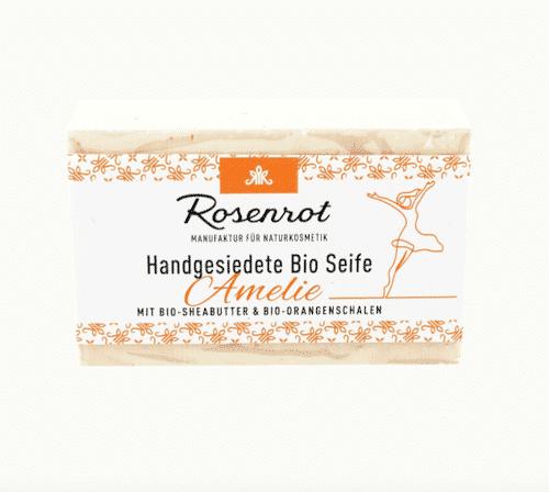 Bioseife Amelie - Rosenrot 100 g
