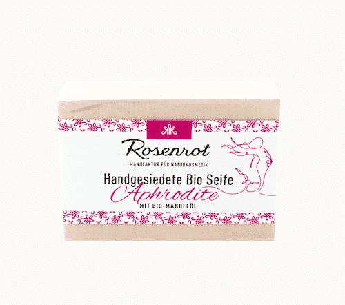 Bioseife Aphrodite - Rosenrot 100 g