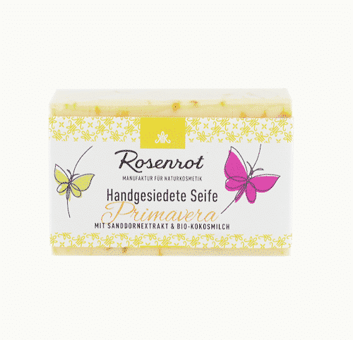 Bioseife Primavera - Rosenrot 100 g