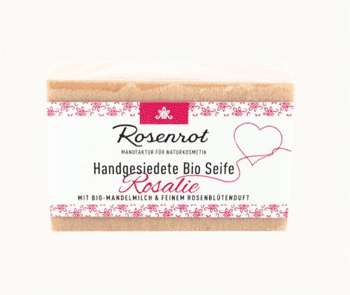 Bioseife Rosalie - Rosenrot 100 g
