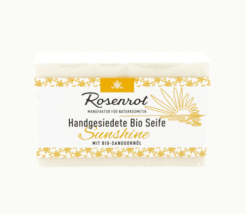 Bioseife Sunshine - Rosenrot 100 g