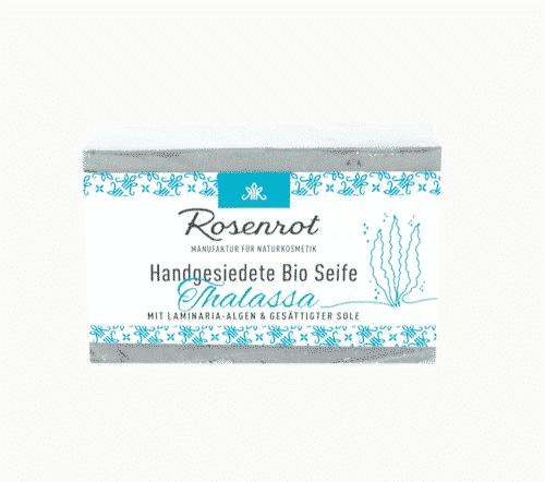 Bioseife Thalassa - Rosenrot 100 g
