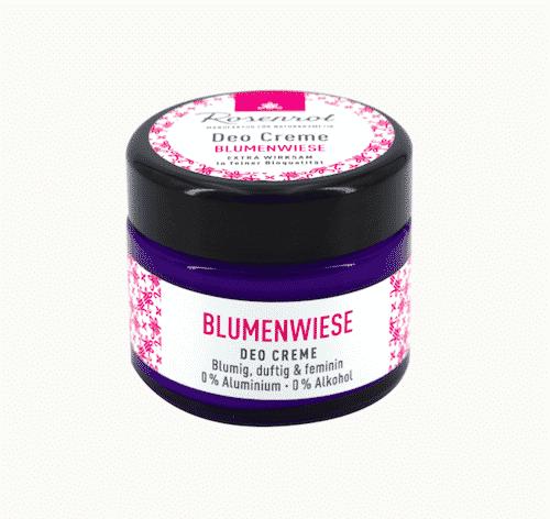 Deo Creme Blumenwiese - vegan - Rosenrot 50 g