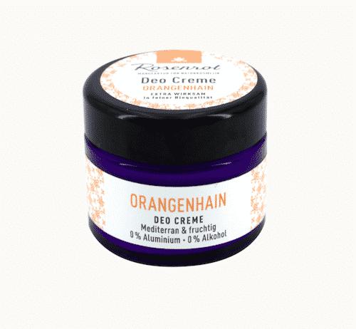Deo Creme Orangenhain - vegan - Rosenrot 50 g