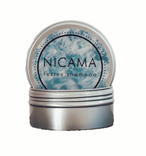 Dose für die Reise - Reisedose für festes Shampoo - NICAMA