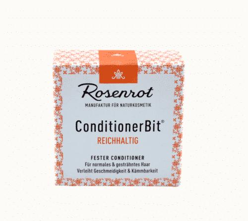 Fester Conditioner REICHHALTIG - ConditionerBit - Rosenrot 60 g - 3