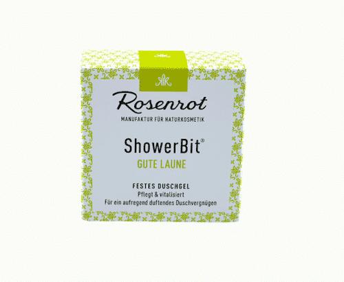 Festes Duschgel Gute Laune - ShowerBit - Rosenrot- 3