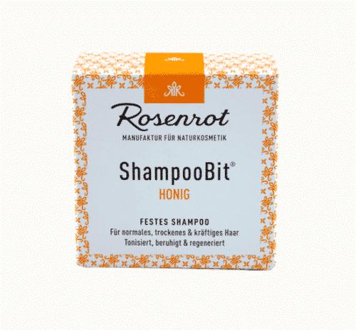 Festes Shampoo Honig - ShampooBit - Rosenrot 2