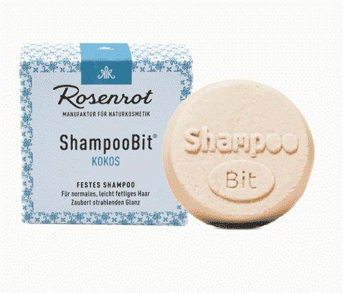 Festes Shampoo Honig - ShampooBit - Rosenrot 55 g