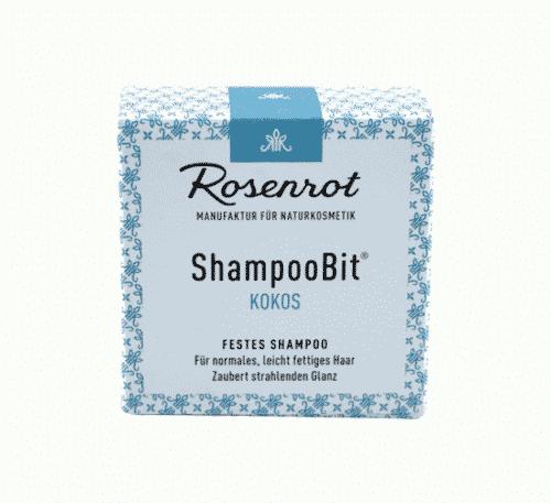 Festes Shampoo Honig - ShampooBit - Rosenrot 55 g - 3